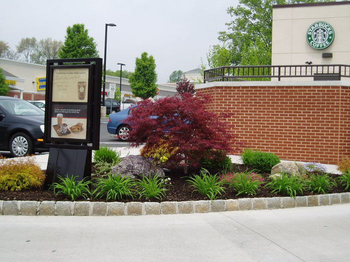 Commercial finishing touch landscape construction for Finishing touches landscaping