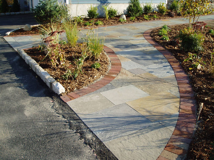 Driveways walks for Finishing touches landscaping