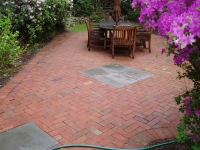 Outdoor living patios for Finishing touches landscaping